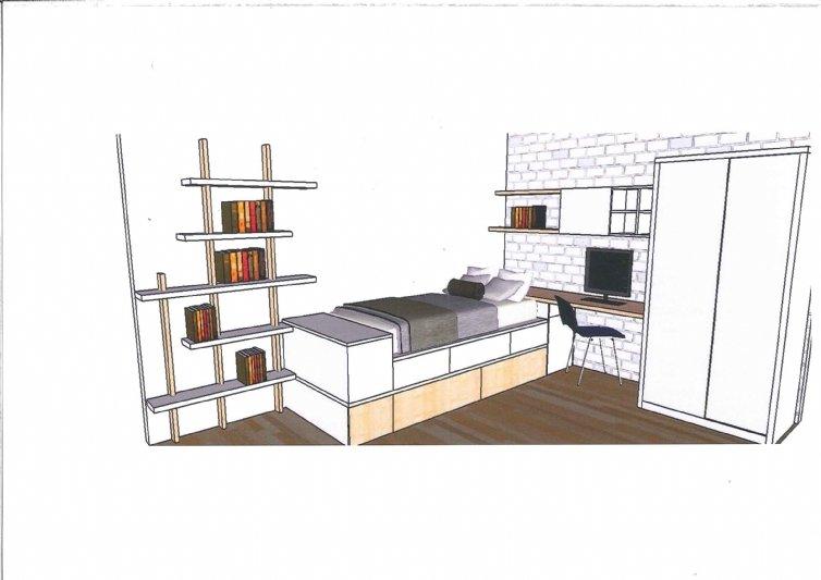 Estanterias modernas para colgar en la pared mobiliario juvenil - Estanterias modernas de pared ...