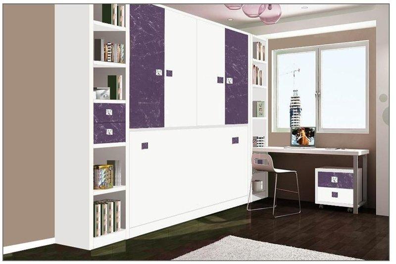 Camas abatibles horizontales y verticales mobiliario juvenil - Camas plegables horizontales ...