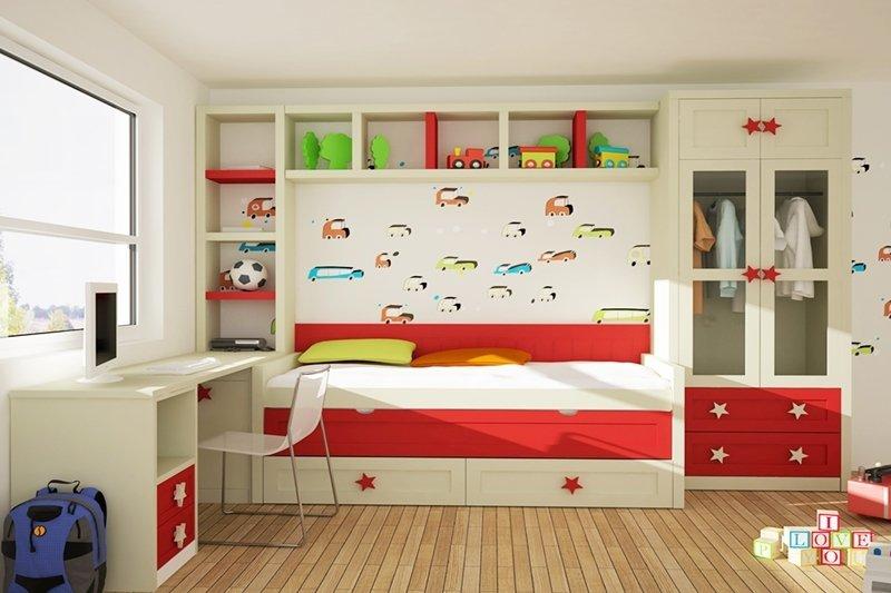 Como elegir los colores para una habitacion juvenil - Colores habitacion juvenil ...